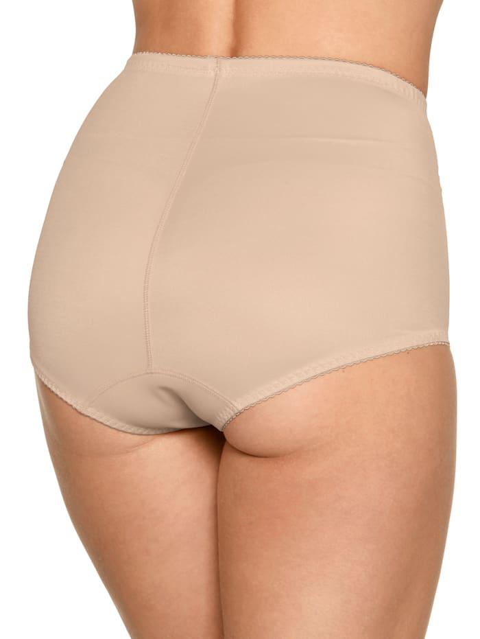 Culotte gainante taille haute avec plastron ventral