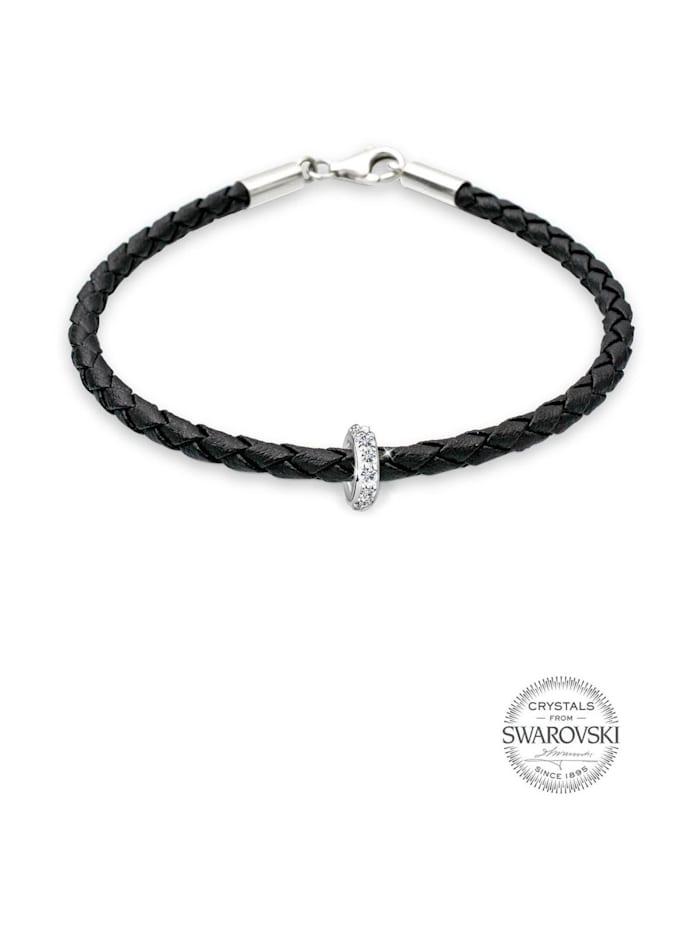 Armband Sammelband Swarovski Kristalle 925 Sterling Silber