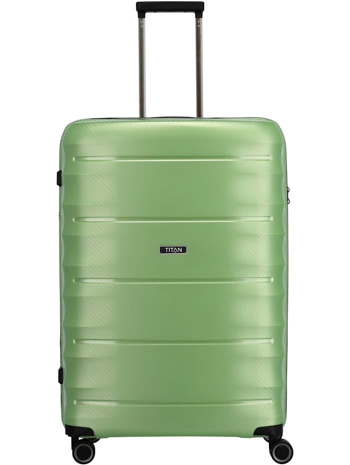 Titan Highlight 4-Rollen Trolley 75 cm, green metallic