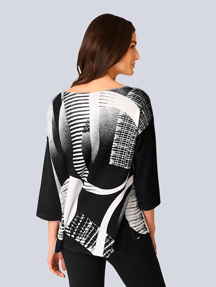 Pullover in Alba Moda exklusivem Dessin