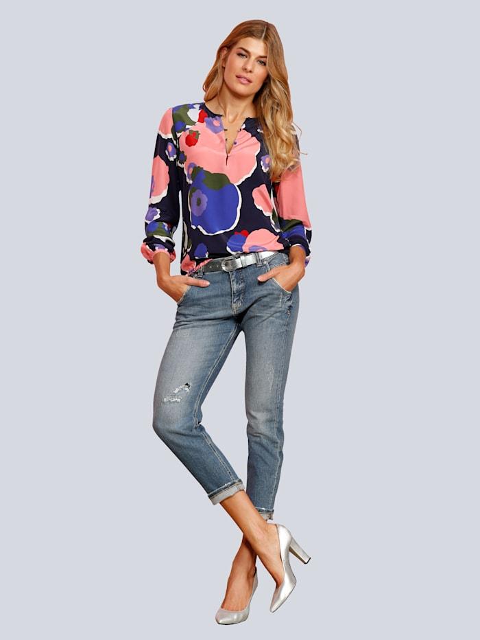 Jeans 'Lynn' mit dezenten Used-Effekten