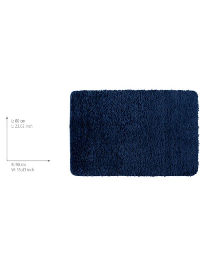 Badteppich Belize Marine Blue, 60 x 90 cm, Mikrofaser