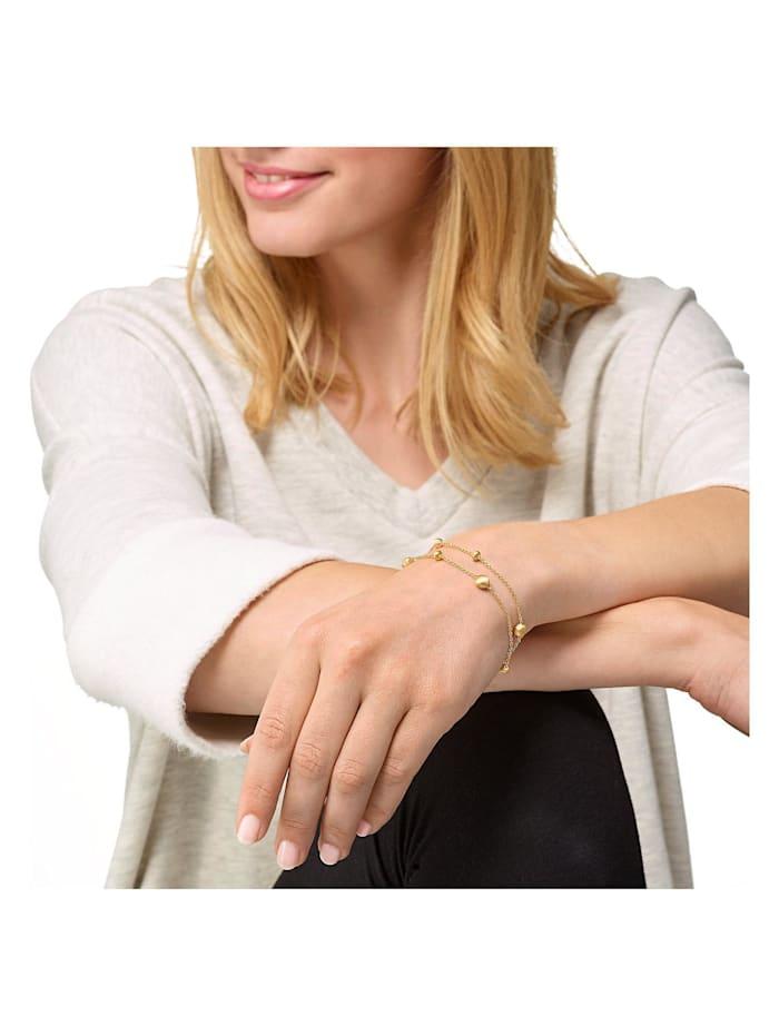 CHRIST Gold Damen-Armband 375er Gelbgold
