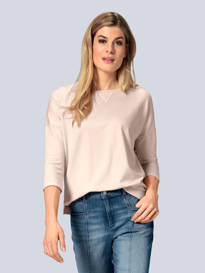 BRAX Sweatshirt in lässiger Form, Creme-Weiß