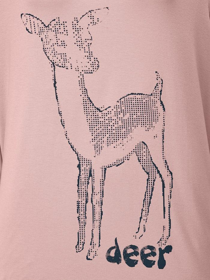 Shirt mit Rehkitzdruck