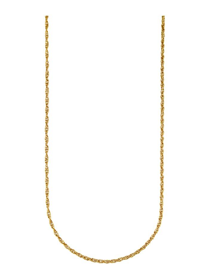 Diemer Gold Dubbele ankerketting van 14 kt., Geelgoudkleur