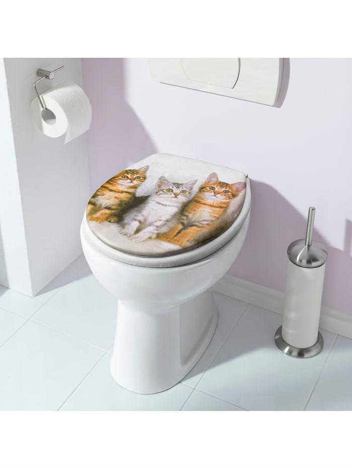 Mjuk WC-sits – katter