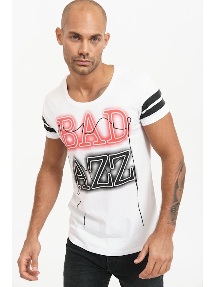 trueprodigy T-Shirt Lex mit coolem Frontprint, 2000-White