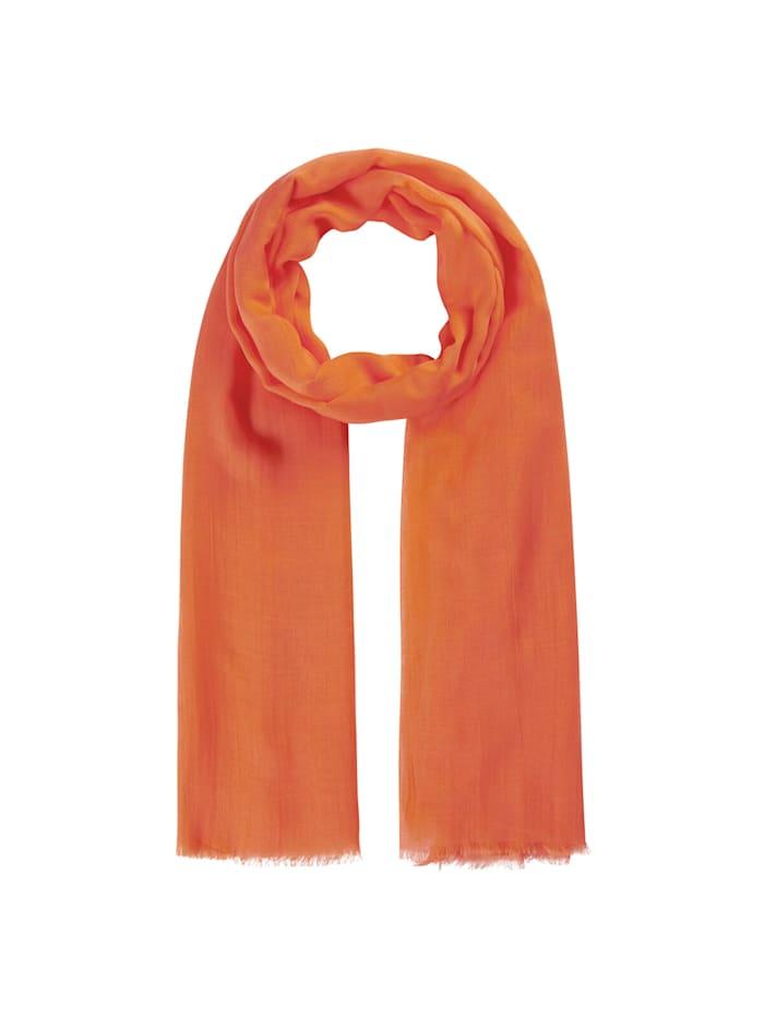 Codello Supersofter XL-Schal aus Bambus, orange