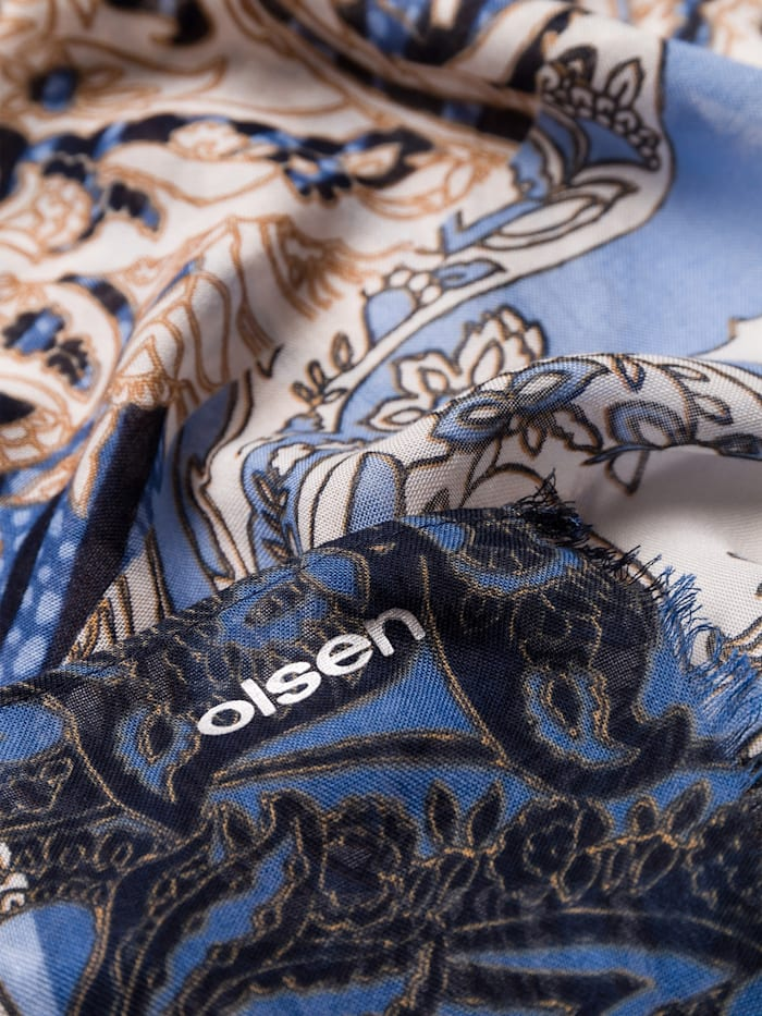 Modeschal mit orientalischem Druck