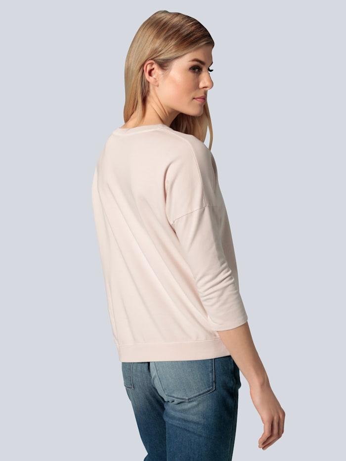 Sweatshirt in lässiger Form