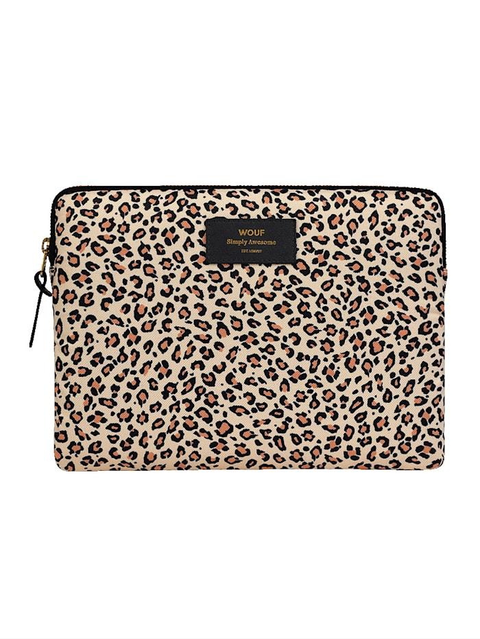 Wouf iPad-Tasche, Leo, Creme