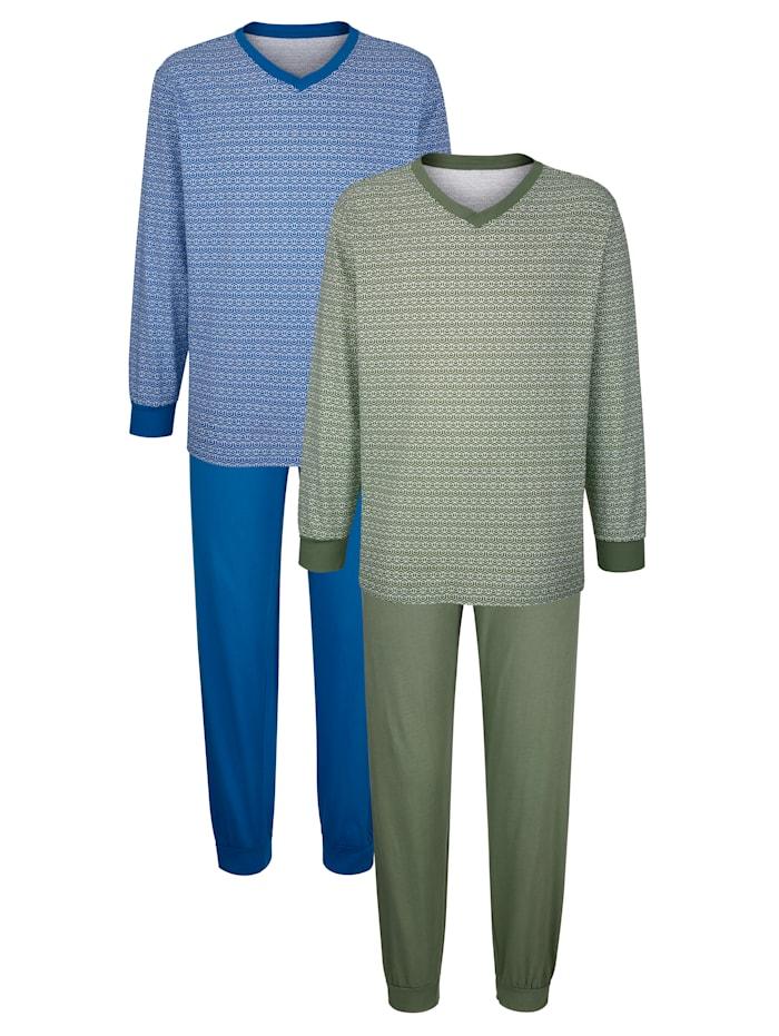 Shortama's, Blauw/Groen