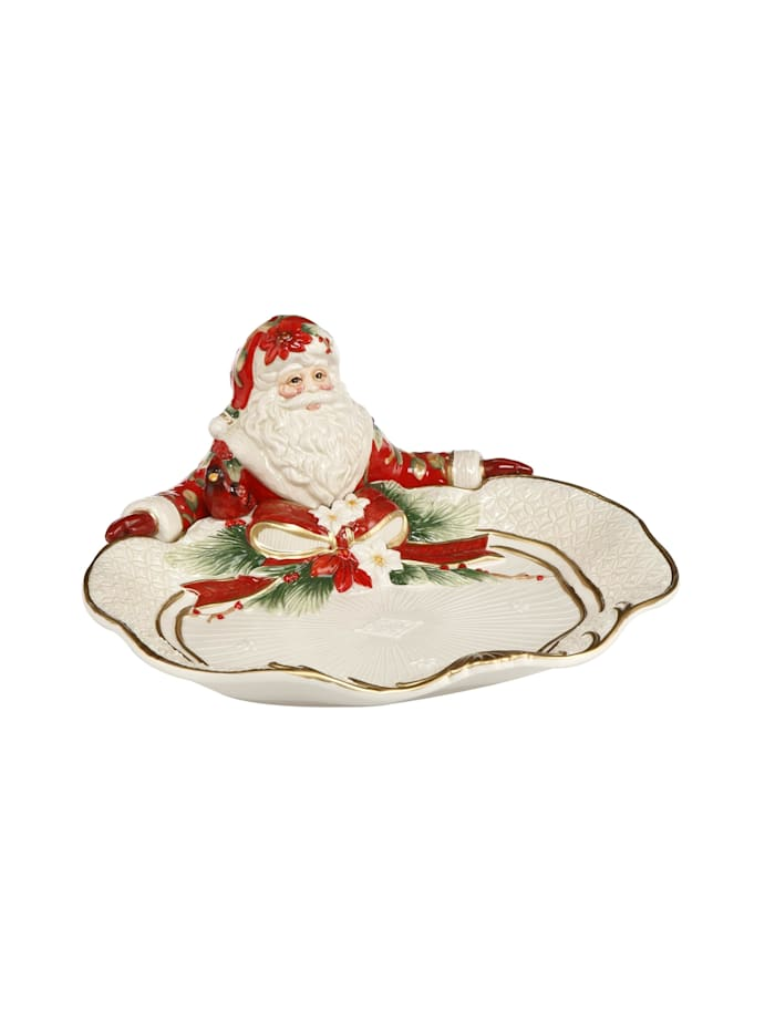 Fitz&Floyd Fitz&Floyd Schale Santa präsentiert, Bunt