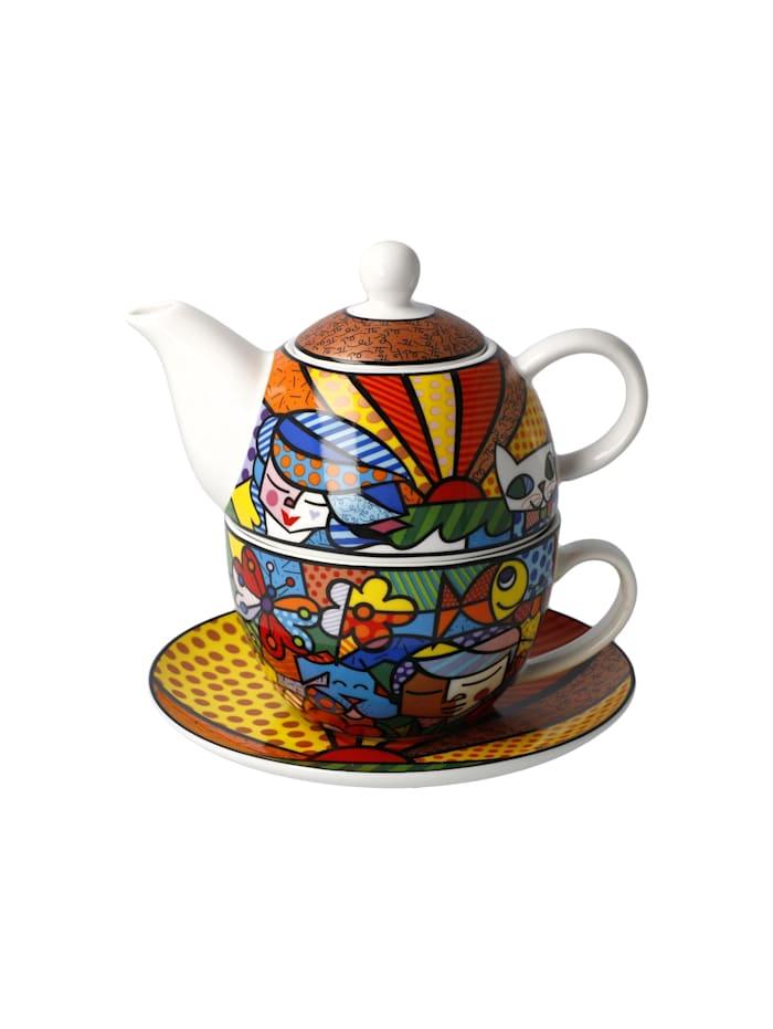 Goebel Goebel Tea for One Romero Britto - Garden, Britto-Garden