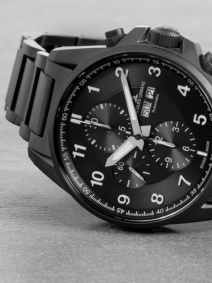Herren-Uhr- Automatik-Chronograph Serie: Liverpool Automatic, Kollektion: Sport: 1- 1750G