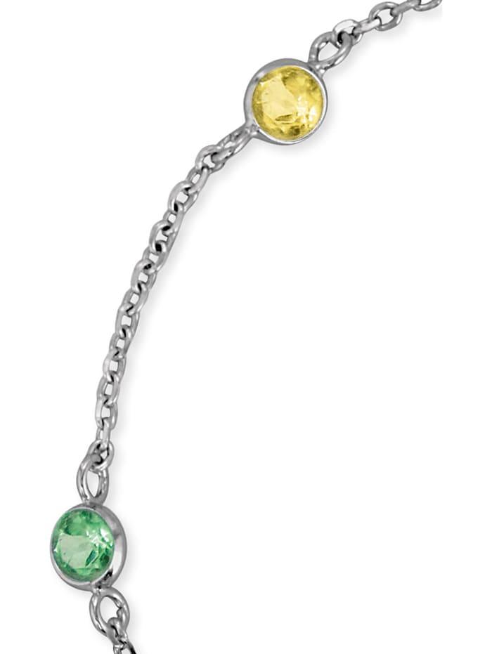 Engelsrufer Damen-Armband 925er Silber Zirkonia