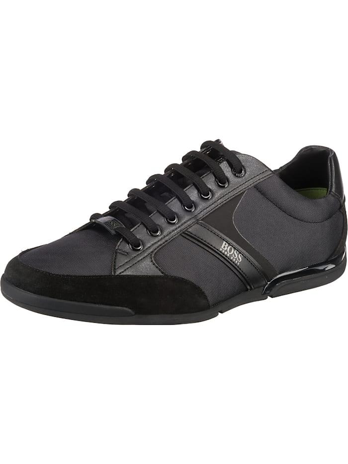 BOSS Modern Saturn Sneakers Low, schwarz