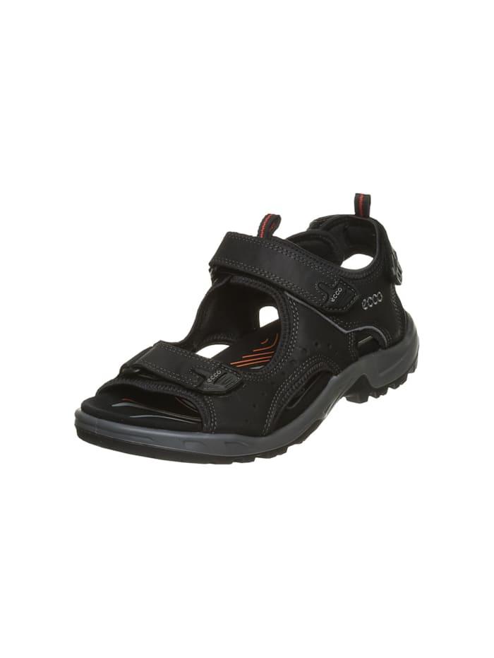Ecco Herren Sandale in schwarz, schwarz