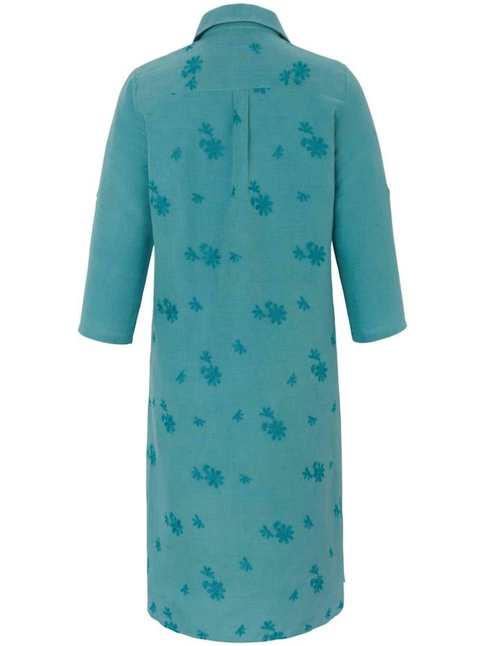 Sommerkleid Kleid mit 3/4-Arm