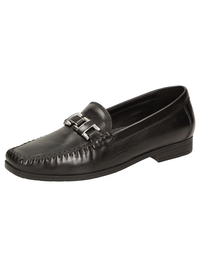 Sioux Slipper Cambria, schwarz