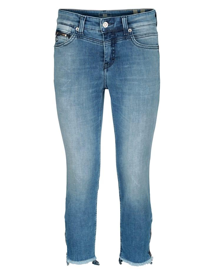 MAC Jeans in modischer Waschung, Blue bleached
