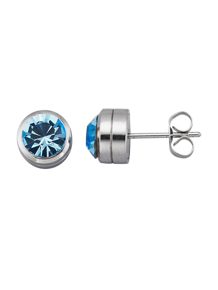 Magnetic Balance Oorstekers, Blauw