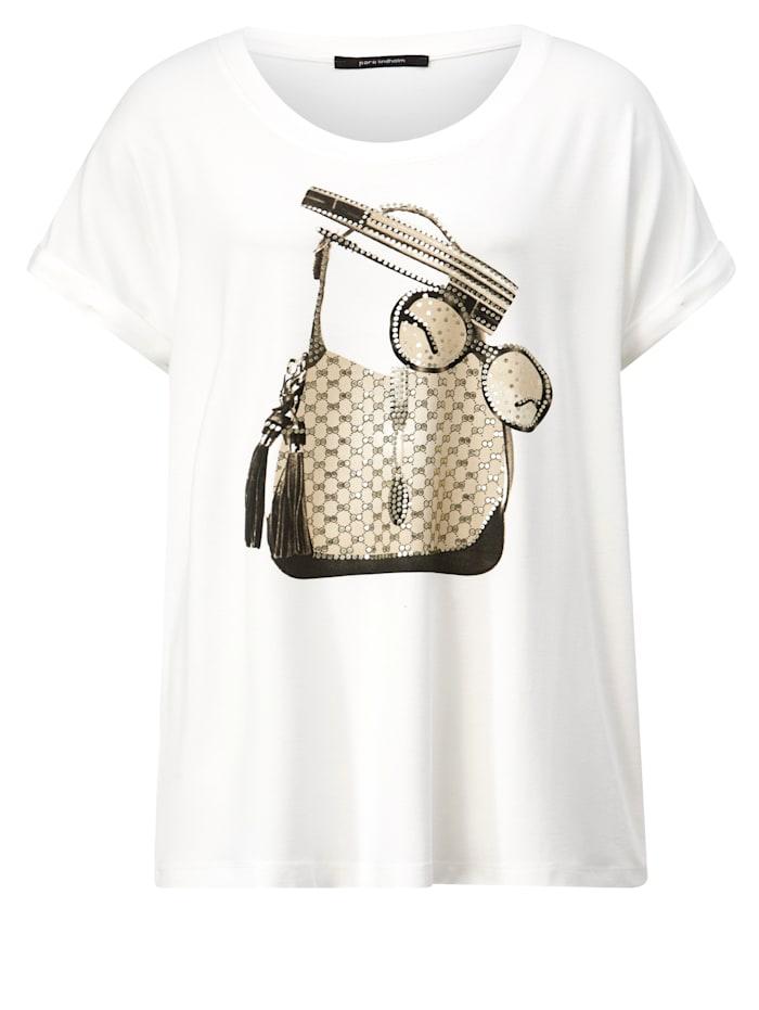 Shirt in leicht taillierter Form