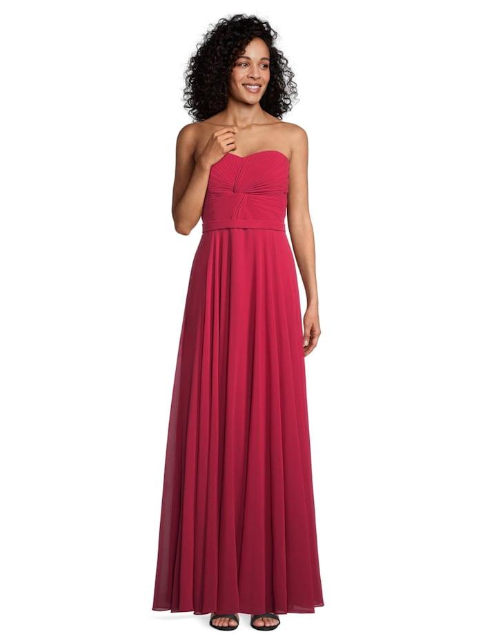 Vera Mont Abendkleid mit Plissee, Rot