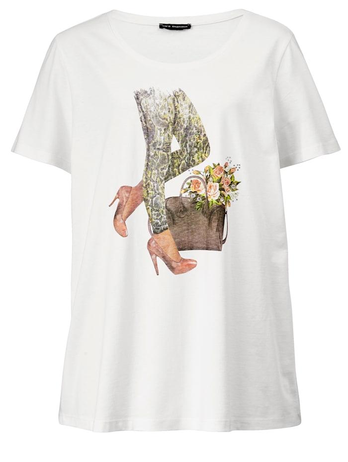Shirt met modieus motief