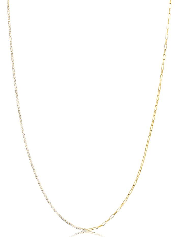 Sif Jakobs Sif Jakobs Jewellery Damen-Kette 925er Silber Zirkonia, gold
