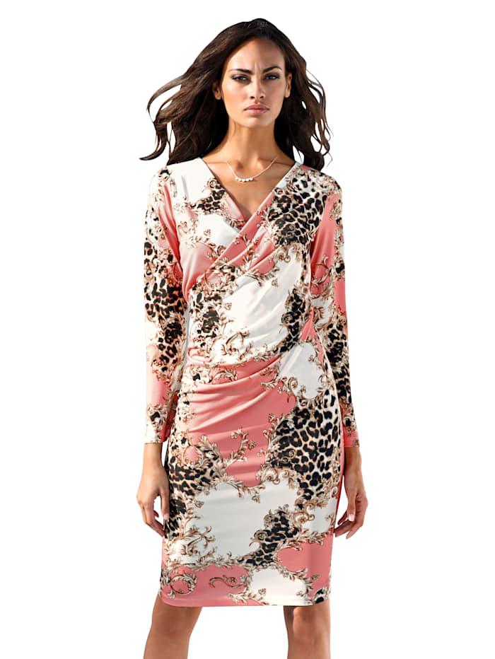 Kleid mit Mustermix