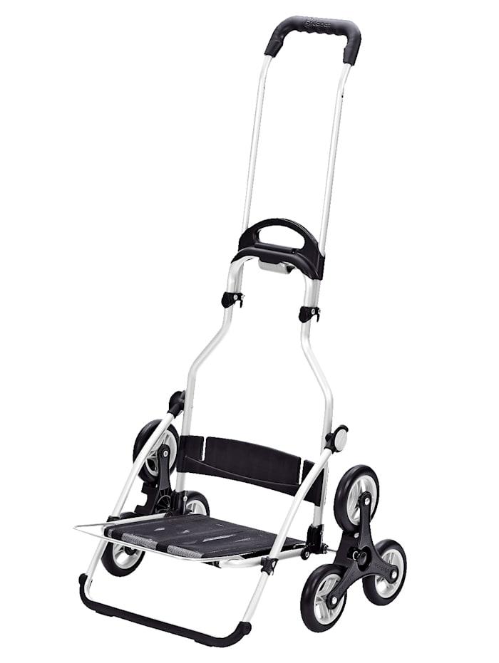Chariot à courses en aluminium monte-escaliers Riva à 6 roues
