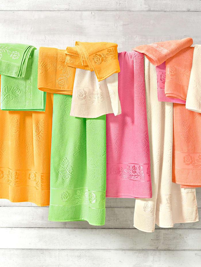 Webschatz Handdoeken 'Olga', roze