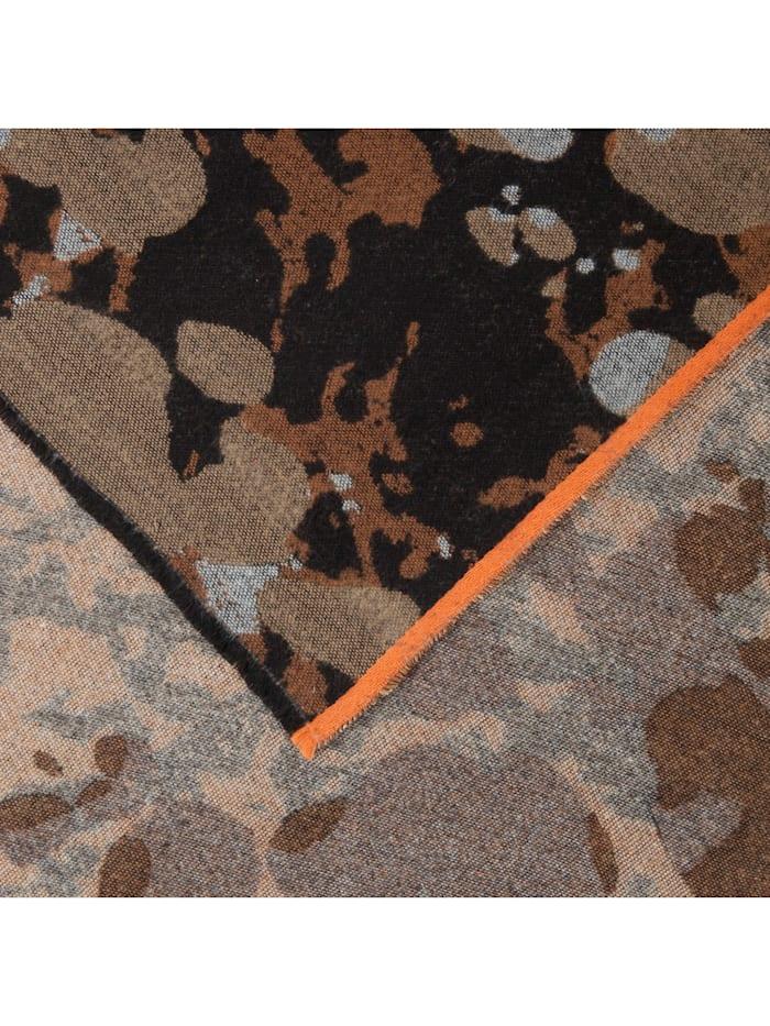XL-Schal mit stylischem Camou-Muster