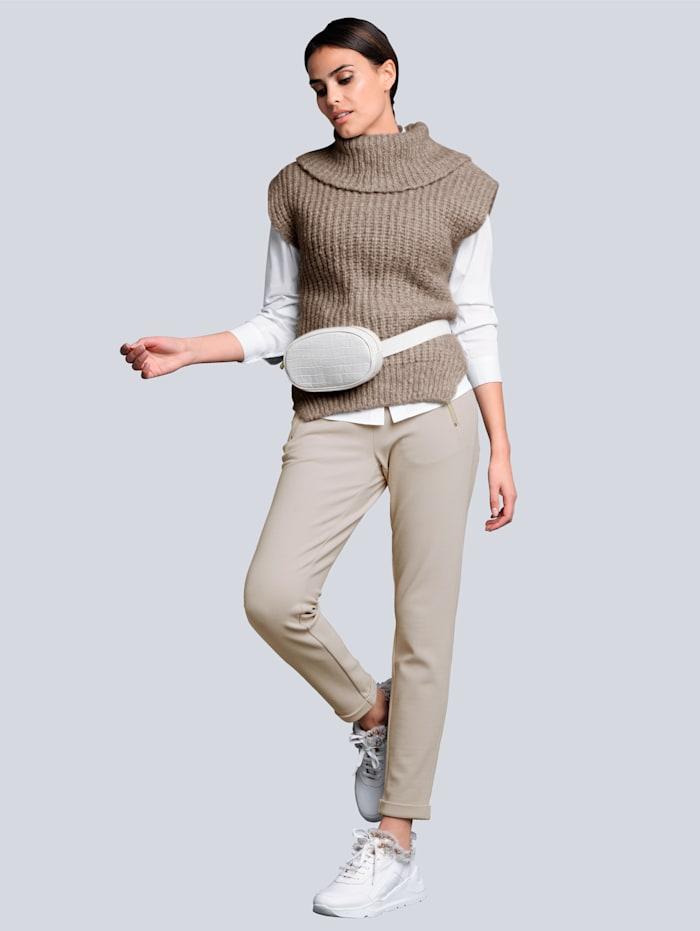 Džersej nohavice s módnym joggingovým strihom