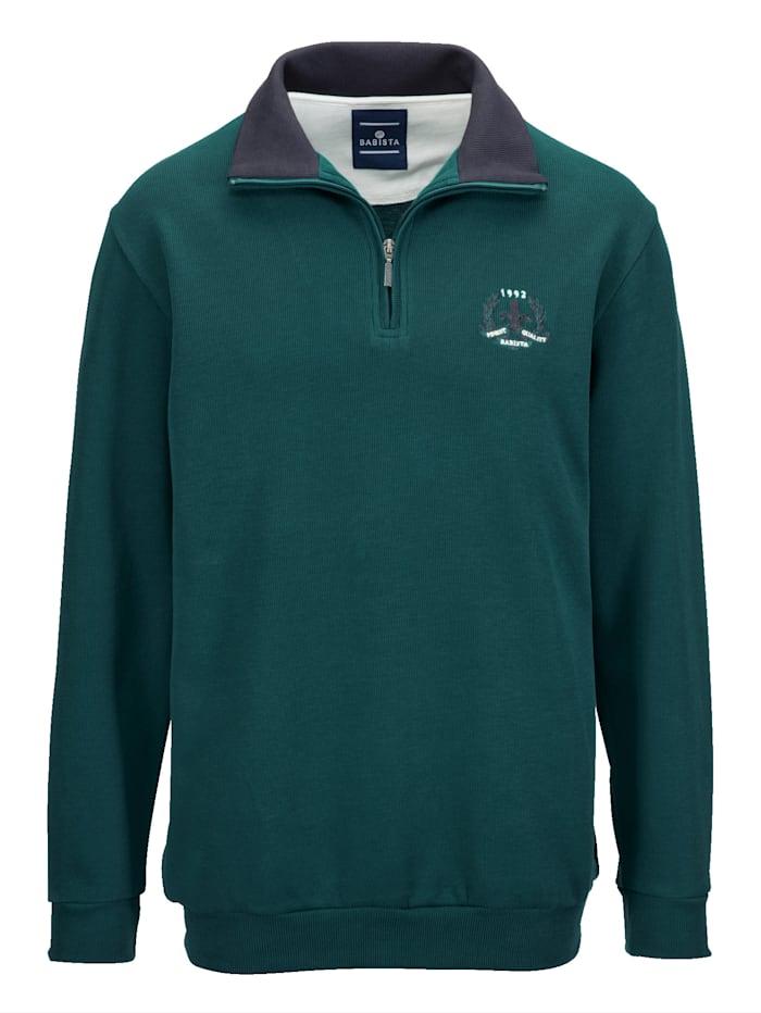 BABISTA Sweatshirt aus reiner Baumwolle, Grün