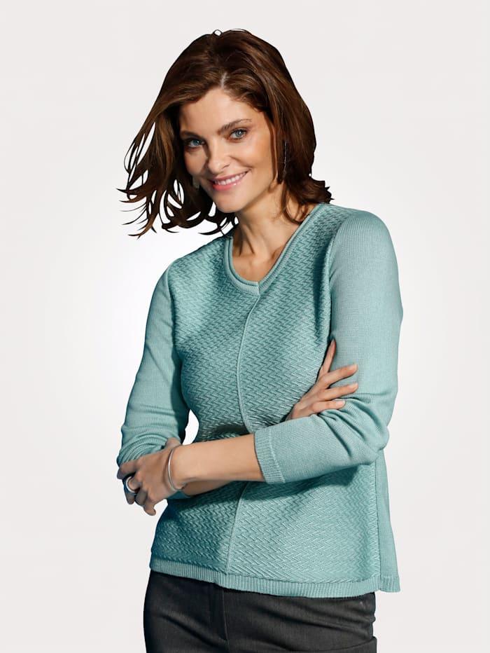 MONA Pullover mit Baumwolle, Mintgrün