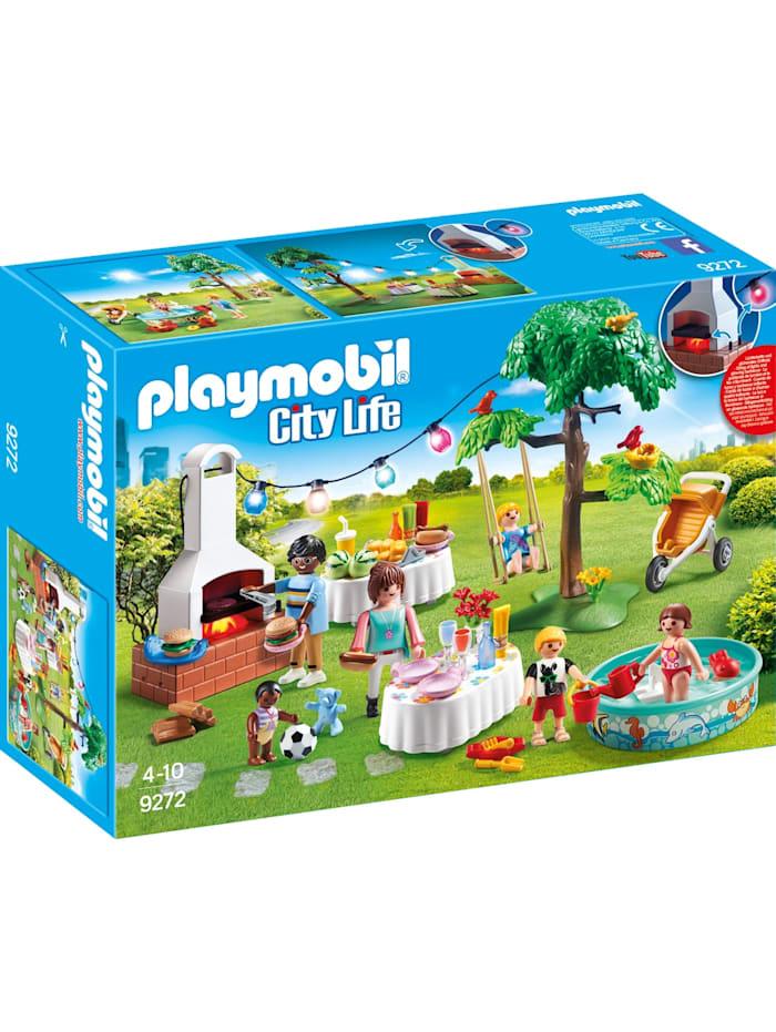 PLAYMOBIL Konstruktionsspielzeug Einweihungsparty, bunt/multi