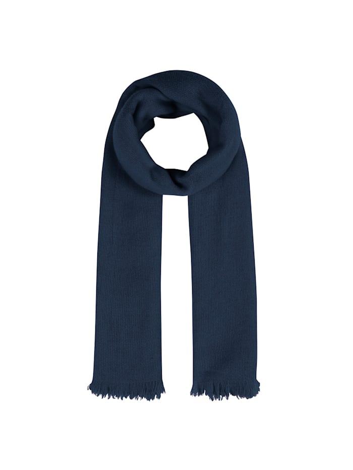 Codello Warmer XL-Strickschal aus Wolle, navy blue