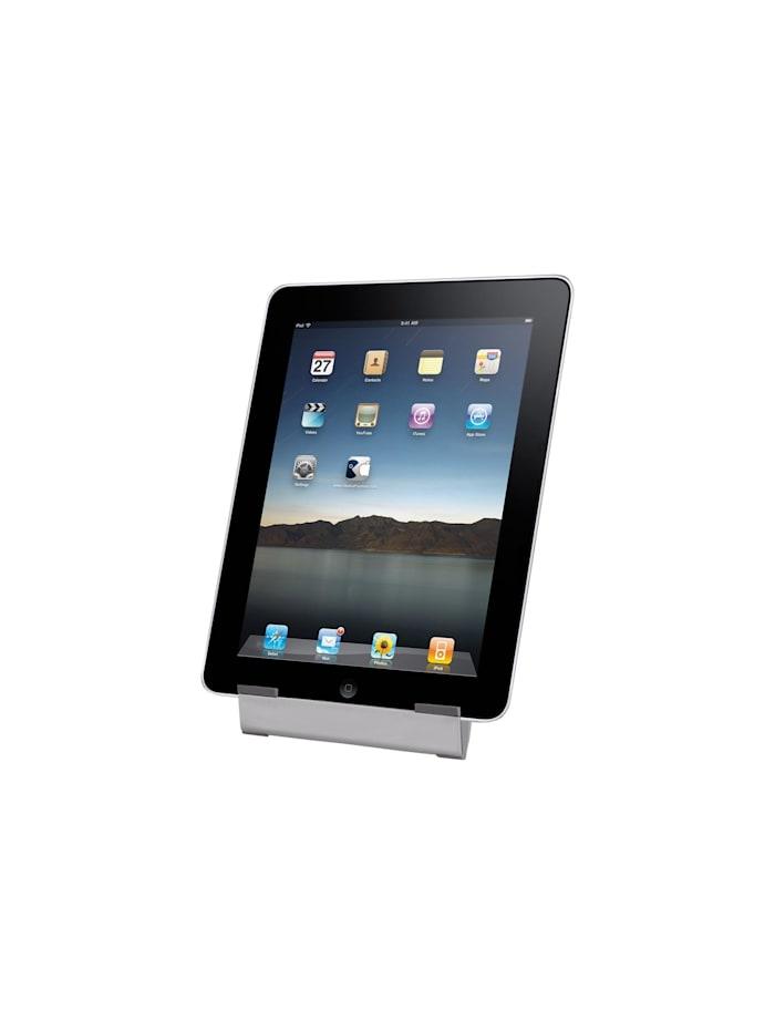 HTI-Living Tablet-Ständer Edelstahl, Silberfarben