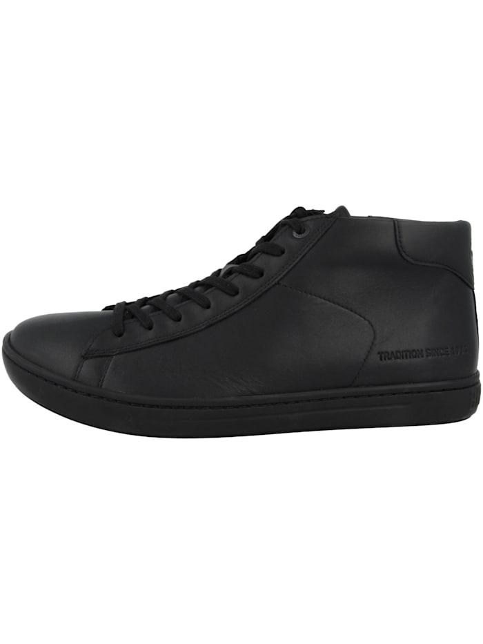 Birkenstock Sneaker mid Levin Mid Naturleder Normal, schwarz
