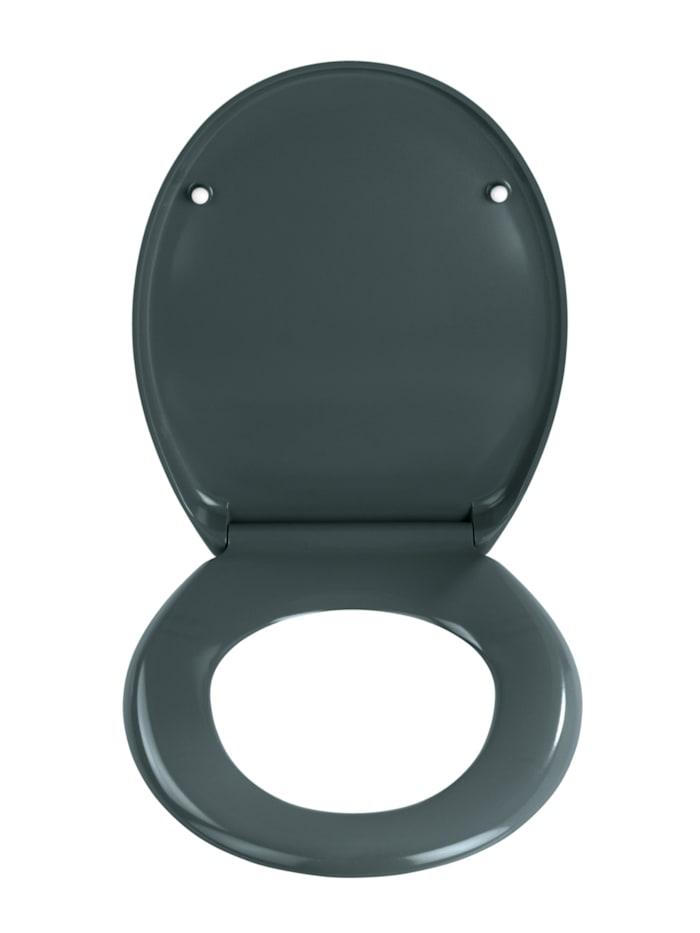 Premium WC-Sitz Ottana Dunkelgrau, mit Absenkautomatik