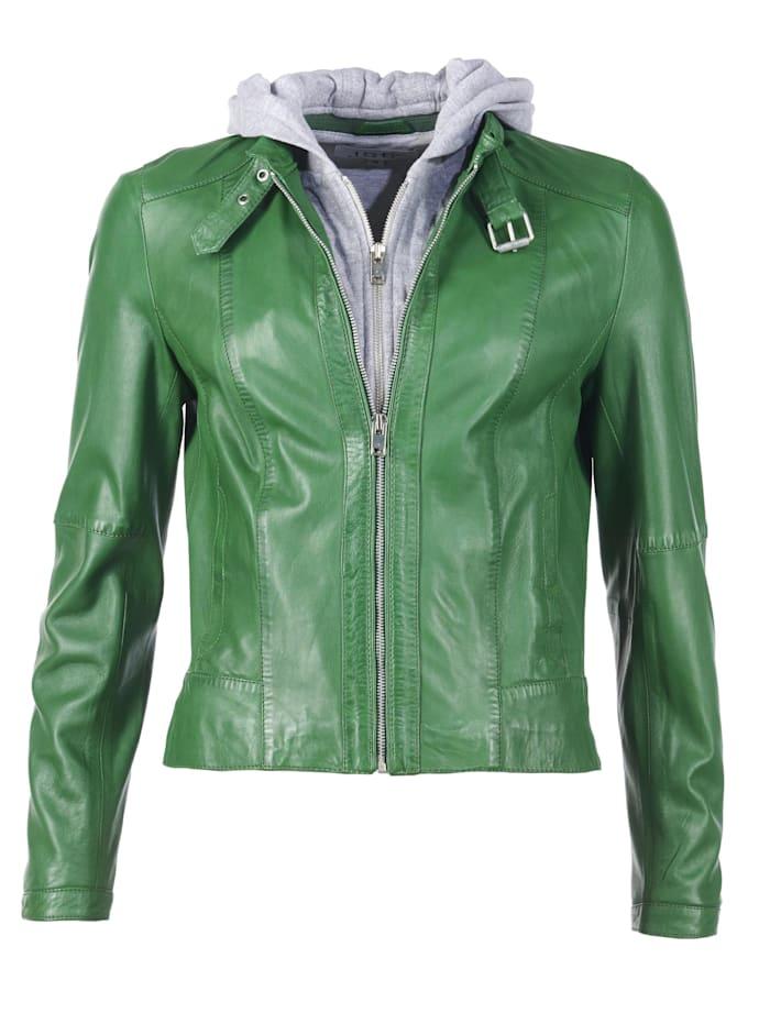 JCC Lederjacke in auffälliger Farbe, green