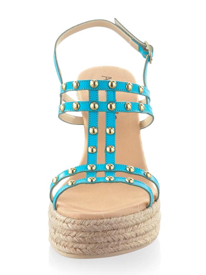 Sandalette mit dünnen Riemchen