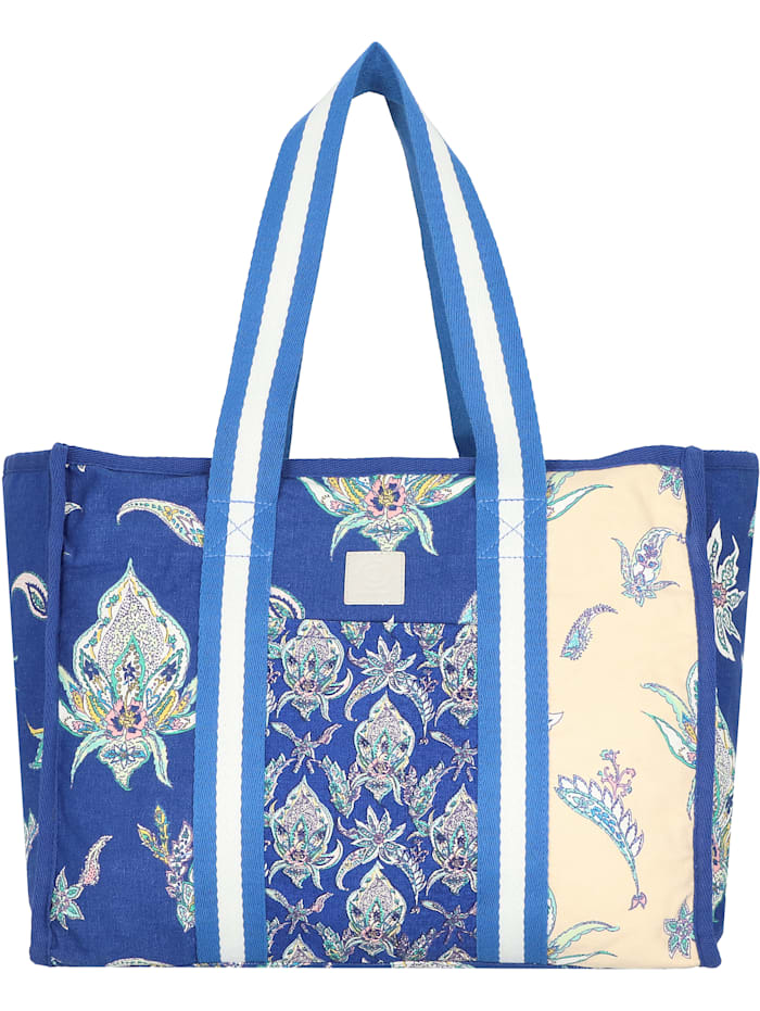 Desigual Bag Blue Kohtao Shopper Tasche 40 cm, tinta