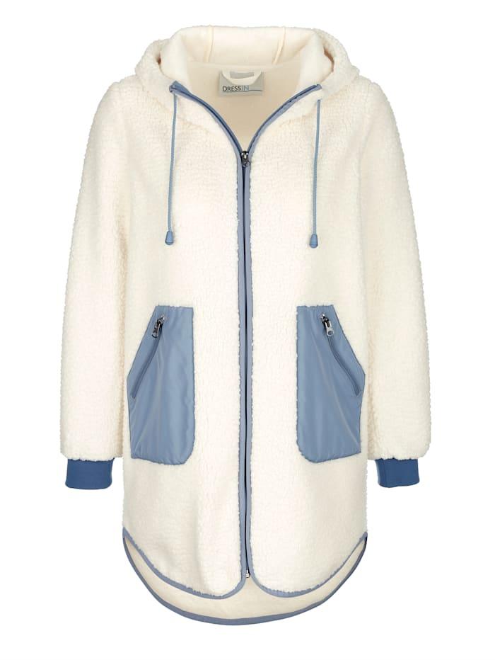 Sweat bunda s kapucňou a šnúrkou