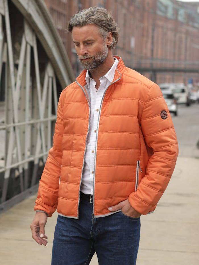 BABISTA Steppblouson in leichtem Sommerstepp, Orange
