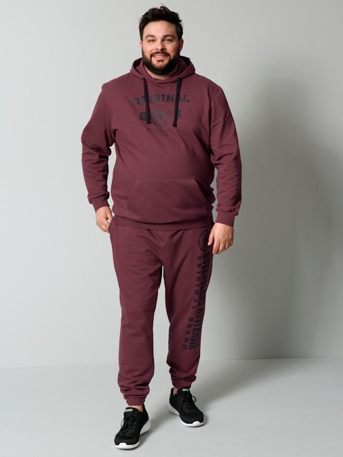 Kapuzensweatshirt aus reiner Baumwolle