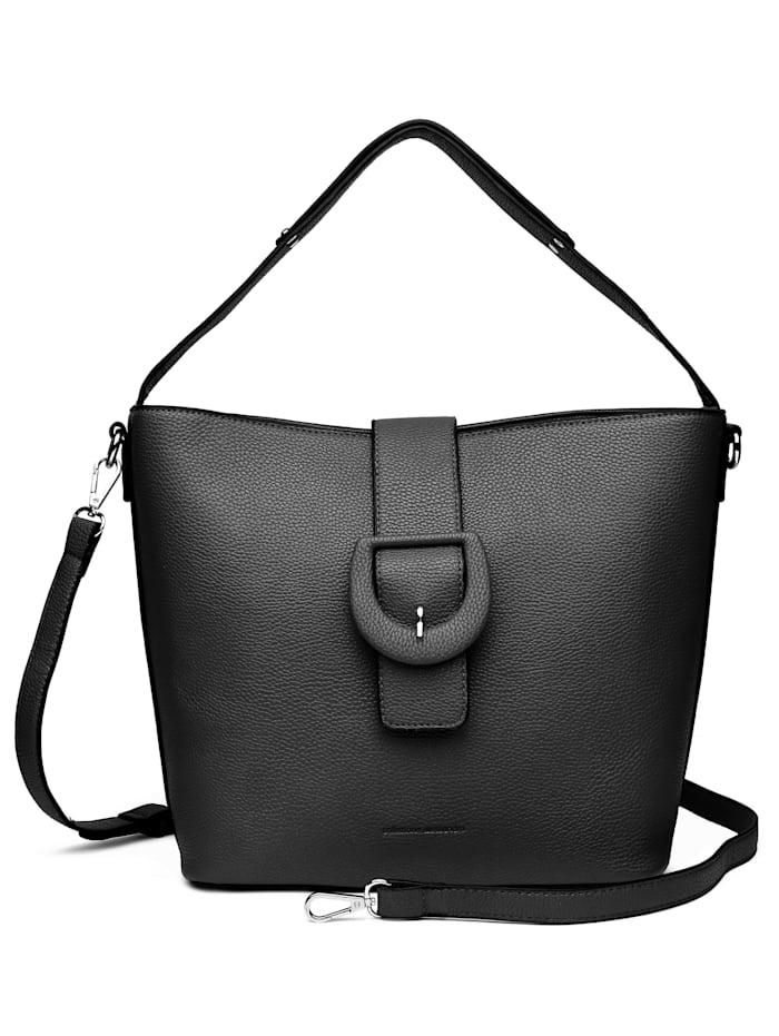 Handtasche Elenea mit dekorativer Gürtelschließe